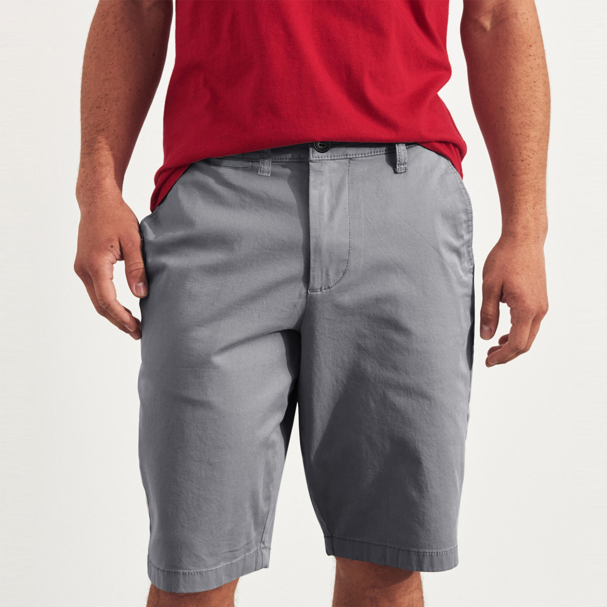 Next Chino Short For Men- Slate Grey-SP049