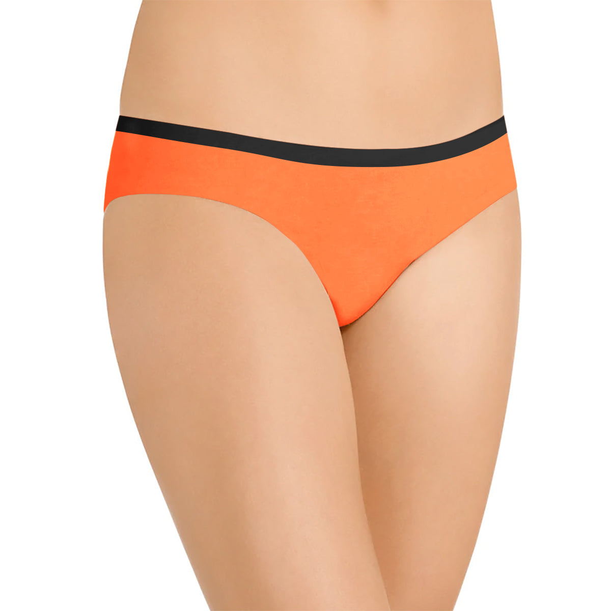 Next Cotton Bikini For Ladies-Orange-BE8716