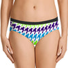 Next Cotton Bikini For Ladies-White with Allover Print-BE8707