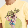 brandsego - Next Crew Neck Single Jersey Half Sleeve Tee Shirt For Men-Light Yellow-BE8284