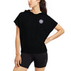 Next Fleece Mock Neck Top For Ladies-Black-BE7032