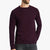 Next Fleece Raglan Sleeve Sweatshirt For Men-Maroon-BE6252
