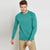 Next Fleece Raglan Sleeve Sweatshirt For Men-Teel-BE6256