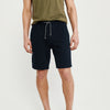 Next Fleece Short For Men-Dark Navy-BE9129