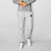 Next Fleece Slim Fit Gathering Bottom Jogger Trouser For Men-Grey Melange-BE7011