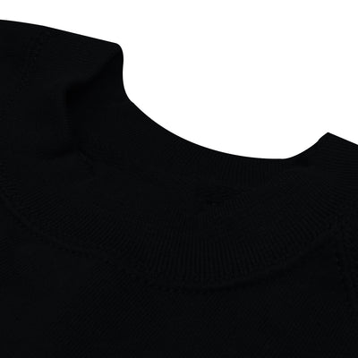 Next Fleece Raglan Sleeve Sweatshirt For Men-Black-BE6217