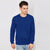 Next Fleece Sweatshirt For Men-Blue-BE6257