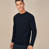 brandsego - Next Fleece Sweatshirt For Men-Dark Navy-BE6219