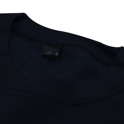 Next Fleece Sweatshirt For Men-Dark Navy-BE6219