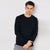 Next Fleece Sweatshirt For Men-Dark Navy-BE6226