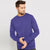 Next Fleece Sweatshirt For Men-Purple-BE6248