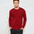 Next Fleece Sweatshirt For Men-Red-BE6228
