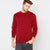 Next Fleece Raglan Sleeve Sweatshirt For Men-Red-BE6229