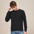 Next Fleece Sweatshirt For Men-Rosy Black-BE6232