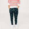 Next Fleece Trouser For Kids-Dark Navy with Print-BE6385