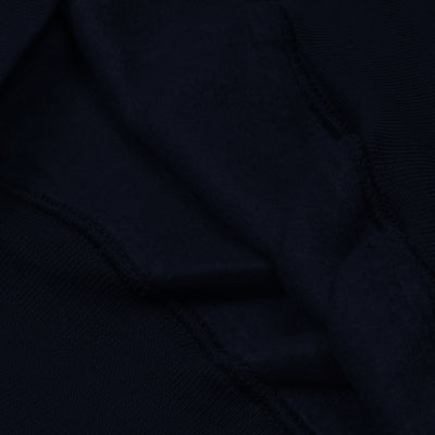 brandsego - Next Fleece V Neck Sweatshirt For Men-Dark Navy-BE6244