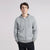 Next Full Zipper Hoodie For Men-Grey Melange-BE6197