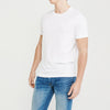 Next Men Crew Neck Single Jersey Short Sleeve Shirt-White-SP039