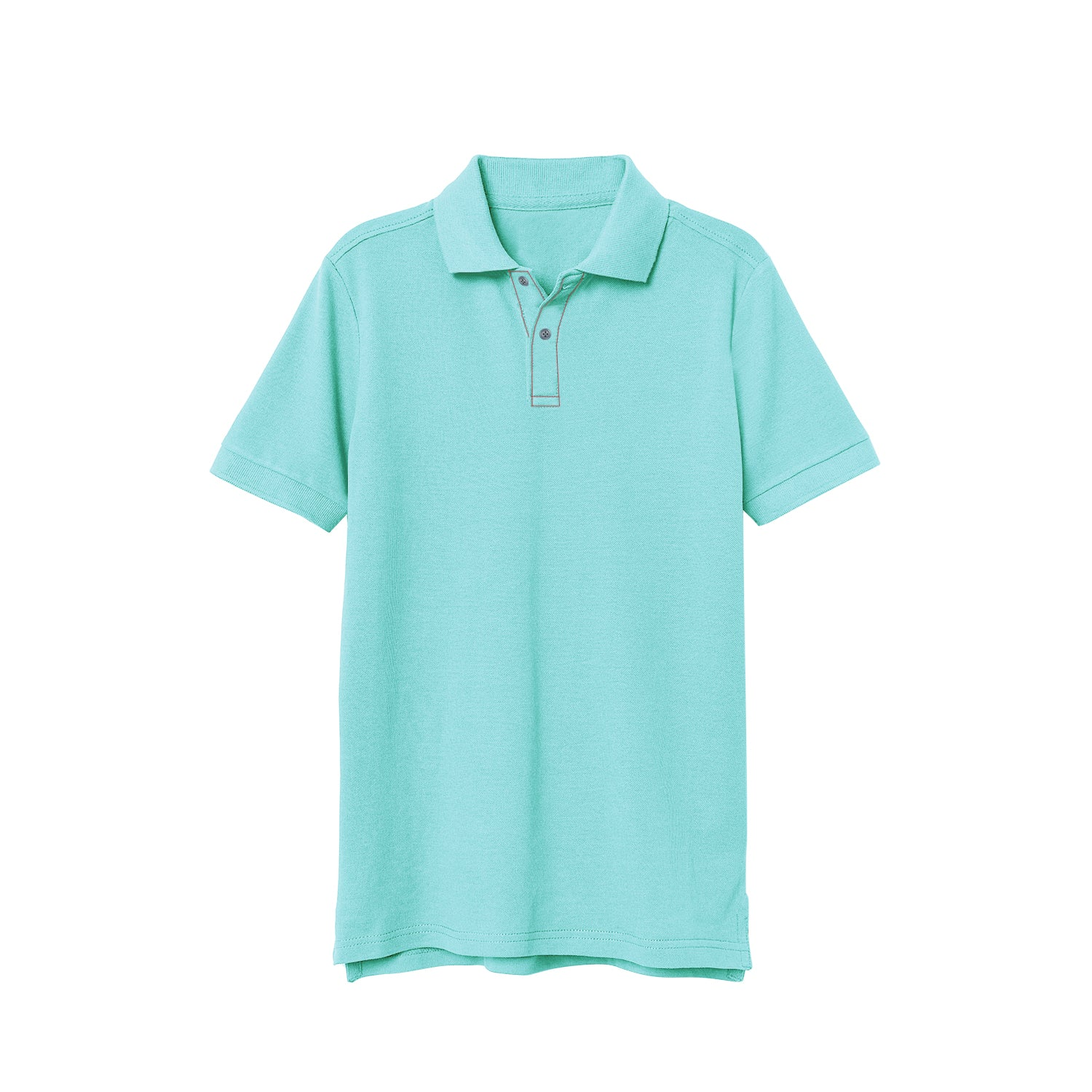 NEXT P.Q Polo Shirt For Kids-Cyan Green-BE9383