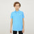 Next P.Q Polo Shirt For Kids-Sky Melange-BE5651