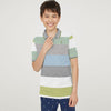 Next P.Q Polo Shirt For Kids-Stripe-BE5190
