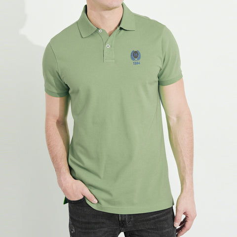 NEXT P.Q Polo Shirt For Men-Light Green-BE5129
