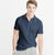 Next P.Q Polo Shirt For Men-Light Navy Melange-BE5594