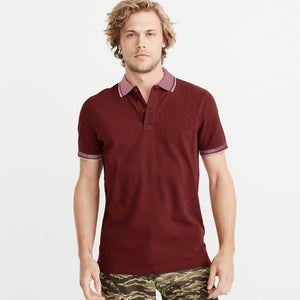 NEXT-P.Q-Polo-Shirt-For-Men-Maroon-BE4806