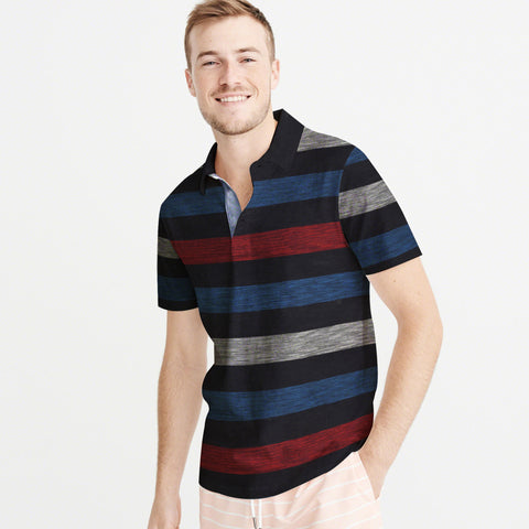 NEXT-P.Q-Polo-Shirt-For-Men-Multi Stripe-BE4811