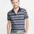 NEXT P.Q Polo Shirt For Men-Navy & Navy Stripe-BE5598