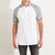 NEXT P.Q Raglan Sleeve Polo Shirt For Men-Grey & White-BE5675