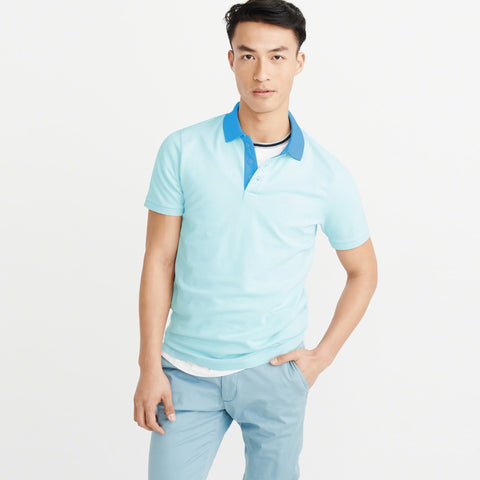 NEXT P.Q Shirt For Men-Light Sky-BE5487