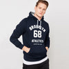Next Pullover Hoodie For Men-Dark Navy-BE6213