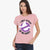 Ghostbusters Single Jersey Blouse For Ladies-Baby Pink-BE5896