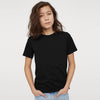 brandsego - Next Single Jersey Crew Neck Tee Shirt For Kids-Black-BE9052
