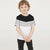 Next Single Jersey Crew Neck Tee Shirt For Kids-White,Grey & Black-BE5681