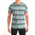 Next Single Jersey Crew Neck Tee Shirt For Men-Green Stripe-BE5658