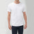 Next Single Jersey Crew Neck Tee Shirt For Men-White-BE5907