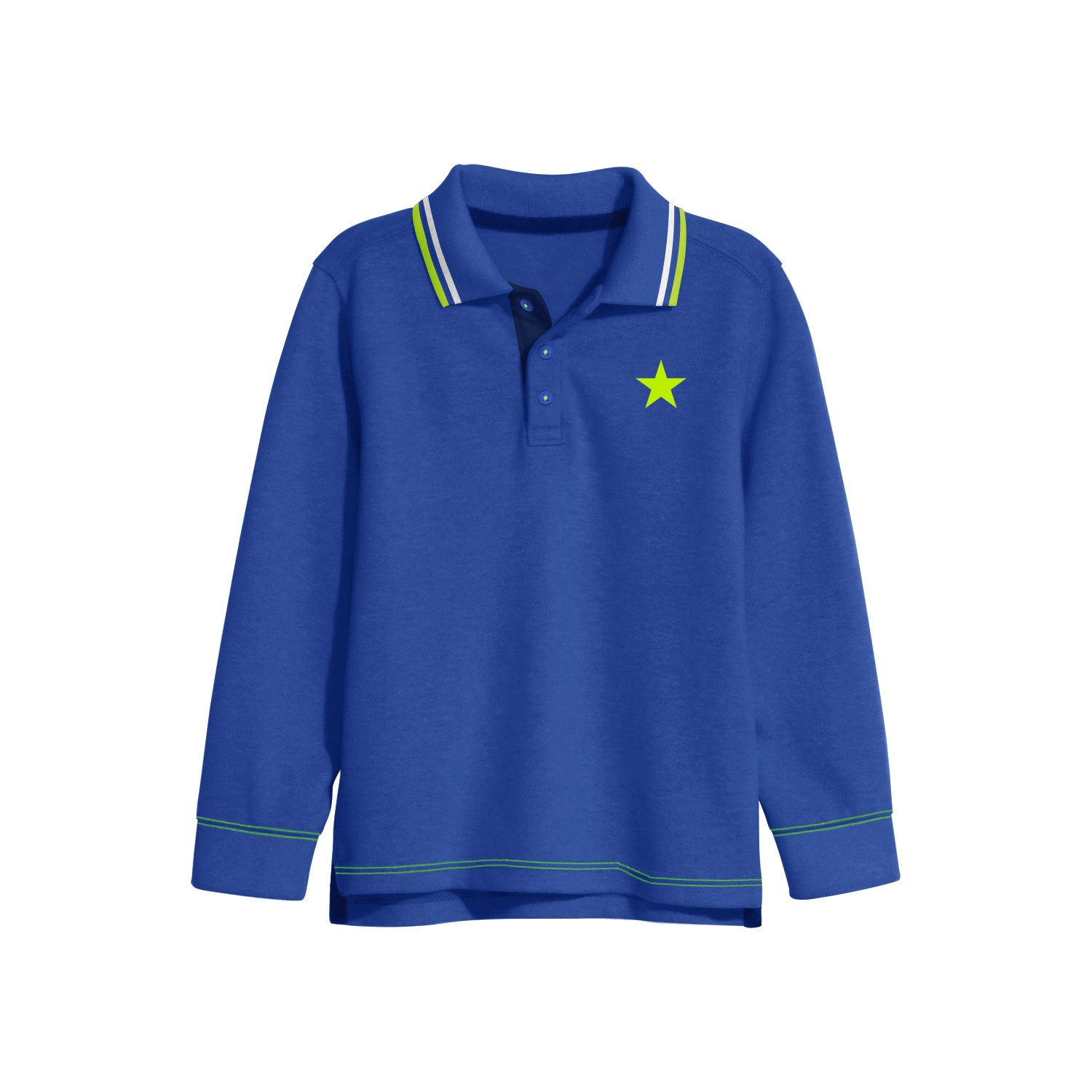 NEXT Single Jersey Polo Shirt For Kids-Dark Blue-BE9344