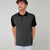 NEXT Single Jersey Polo Shirt For Men-Black with Allover Print-BE5921