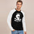 Next Single Jersey Raglan Sleeve Tee Shirt For Men-Black & White-BE5916