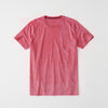 Next Single Jersey Short Sleeve Burnout Wash Tee Shirt For Men-Light Red-BE94021