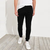 Next Slim Fit Fleece Jogger Trouser For Men-Black-BE6069