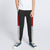 Next Slim Fit Jogger Trouser For Kids-Charcoal with Red & Grey Melange Panels-SP2673