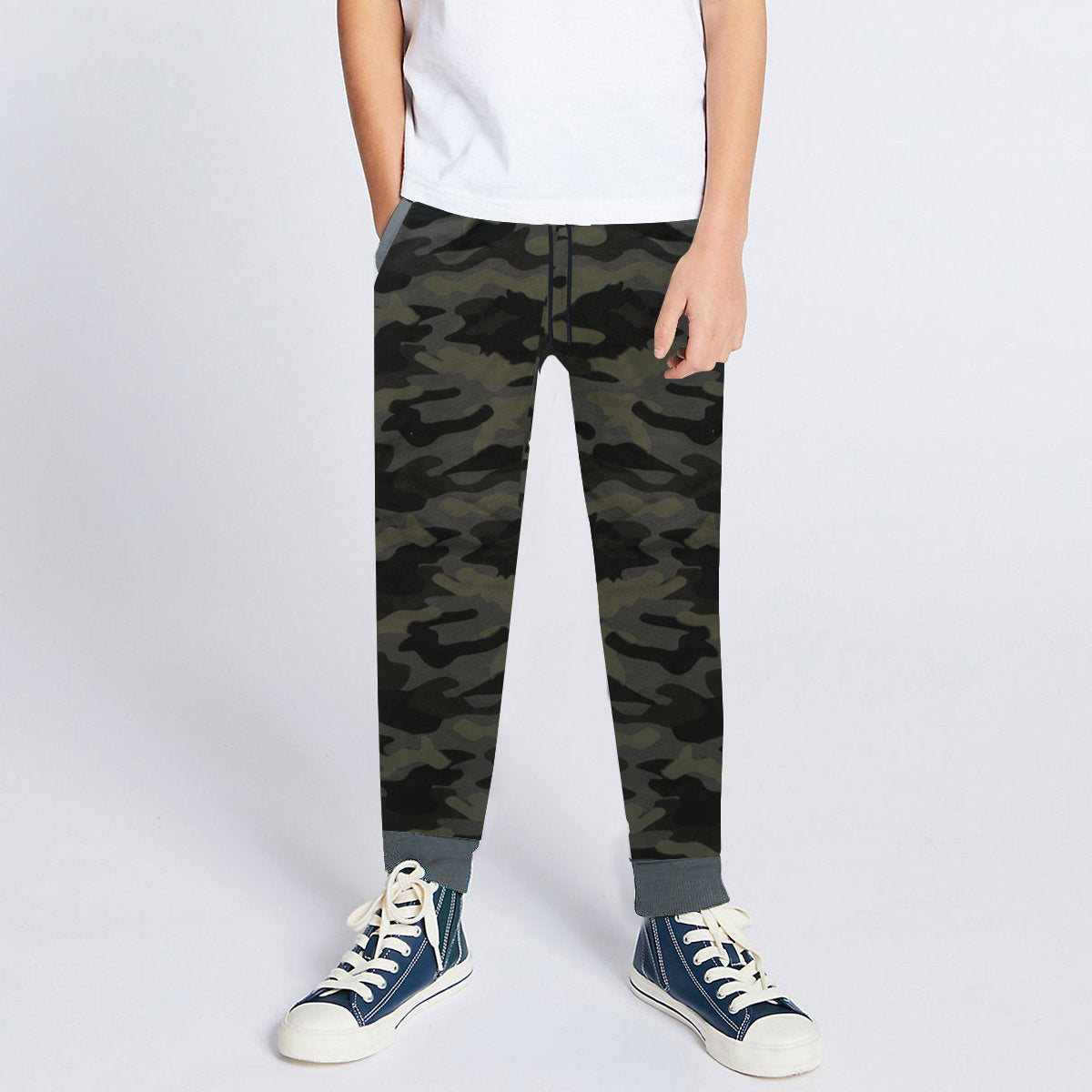 Next Slim Fit Jogger Trouser For Kids-Camouflage-SP3803