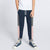 Next Slim Fit Jogger Trouser For Kids-Dark Navy with Grey & Peach With Star Print Panels-SP2688