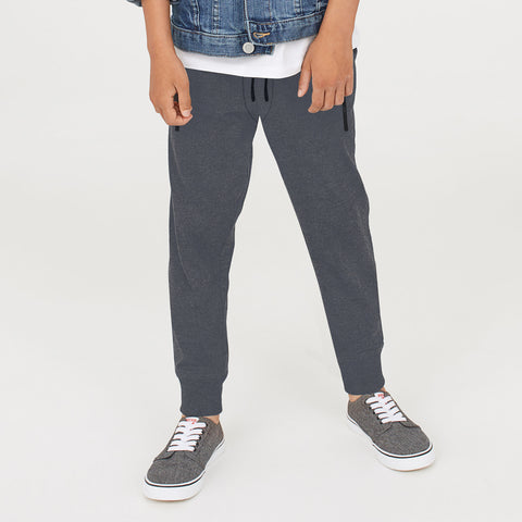 Next Slim Fit Terry P.Q Jogger Trouser For Boys-Slate Grey-BE5484