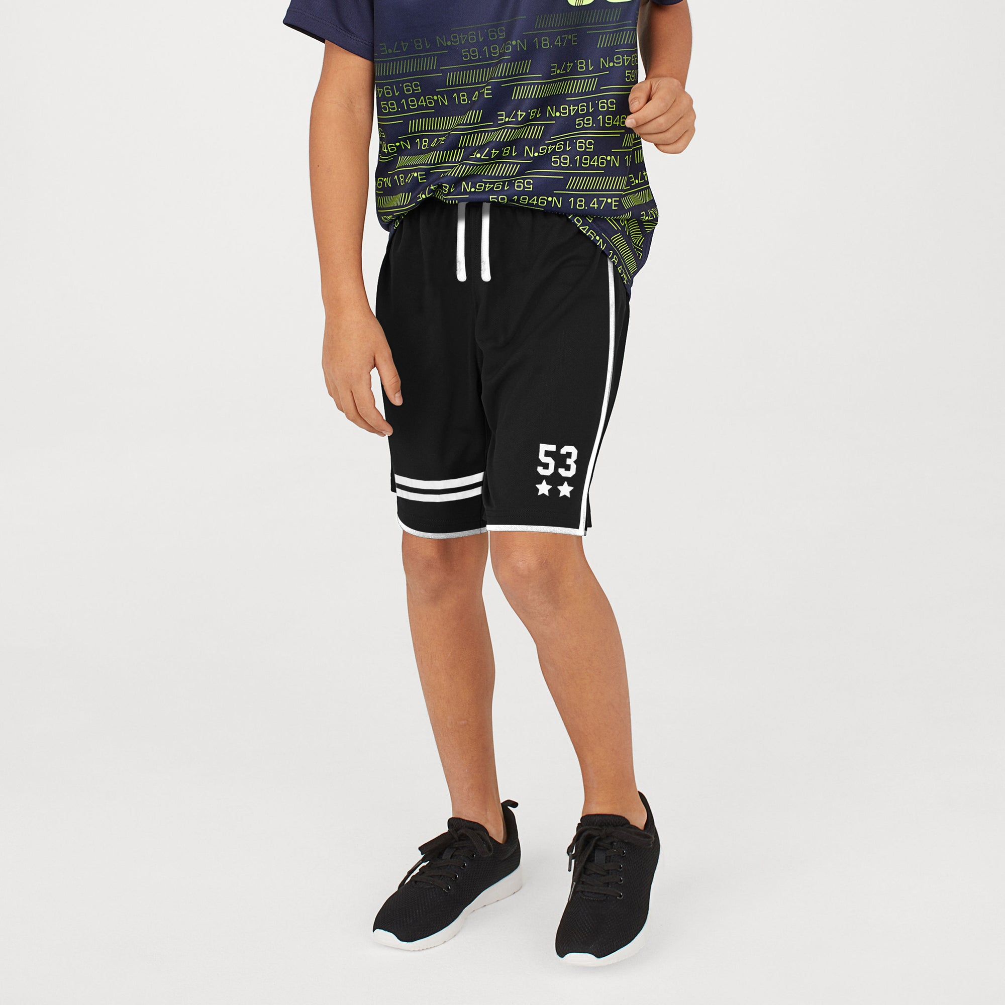 brandsego - Next Sport Short For Boys-Black-BE8259
