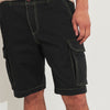 Next Stylish Cotton Cagro Short For Men-Black -Sp080
