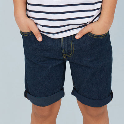brandsego - Next Stylish Short For Boys-Navy Fadeed-SP097